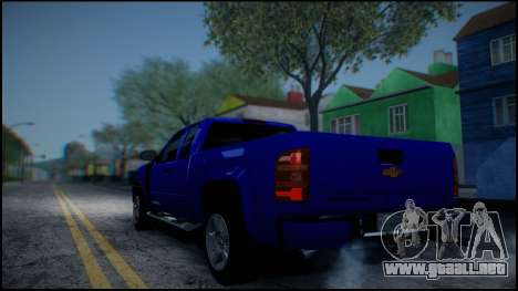 Chevrolet Silverado 1500 HD Stock para vista inferior GTA San Andreas