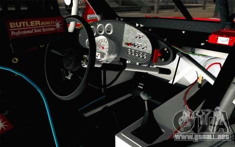 NASCAR Chevrolet Impala 2012 Short Track para la visión correcta GTA San Andreas