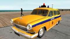 GAS 22 de la unión Soviética de la policía