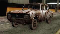 Russian Rustic Moskvitch para GTA San Andreas