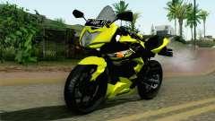 Kawasaki Ninja 250RR Mono Yellow para GTA San Andreas