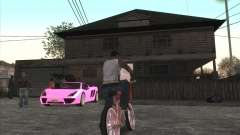 Coche Personal de CJ en Grove Street para GTA San Andreas