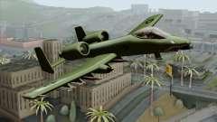 A-10 Warthog Shark Attack para GTA San Andreas