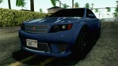 GTA 5 Cheval Fugitive HQLM para GTA San Andreas
