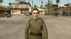 El sargento militar campo de la medicina para GTA San Andreas