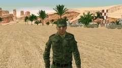 El ejército ruso está en una nueva forma para GTA San Andreas