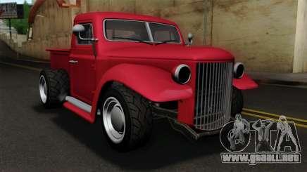 GTA 5 Bravado Rat-Truck IVF para GTA San Andreas