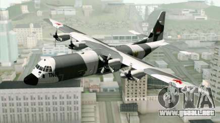 Lockheed C-130 Hercules Indonesian Air Force para GTA San Andreas
