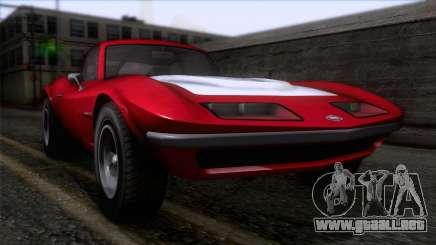 GTA 5 Invetero Coquette Classic HT para GTA San Andreas
