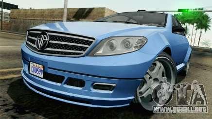 GTA 5 Benefactor Schafter para GTA San Andreas