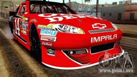 NASCAR Chevrolet Impala 2012 Short Track para GTA San Andreas