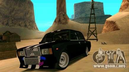 VAZ 2107 CALAMBRES para GTA San Andreas