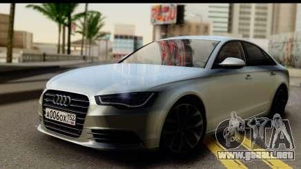 Audi A6 sedán para GTA San Andreas