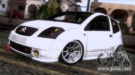 Citroen C2 para GTA San Andreas