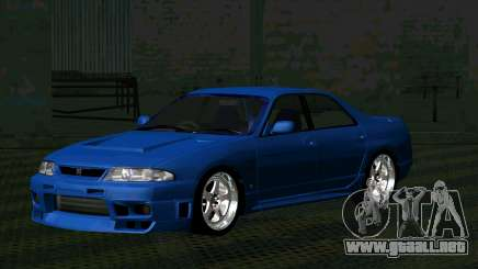 Nissan Skyline R33 4door outech para GTA San Andreas