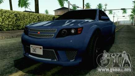 GTA 5 Cheval Fugitive HQLM para GTA San Andreas