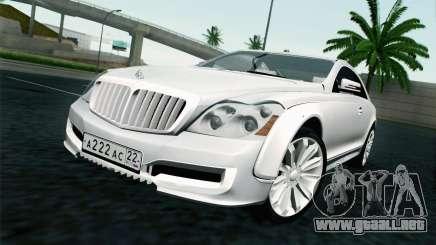 Maybach 57S Coupe Xenatec para GTA San Andreas