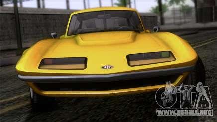 GTA 5 Invetero Coquette Classic HT IVF para GTA San Andreas