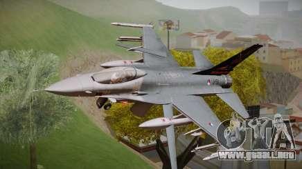 F-16 Fighting Falcon 60th Anniv. of Volkel AFB para GTA San Andreas