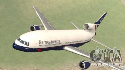 Lookheed L-1011 British Airways para GTA San Andreas