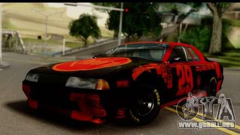 Elegy NASCAR para GTA San Andreas left
