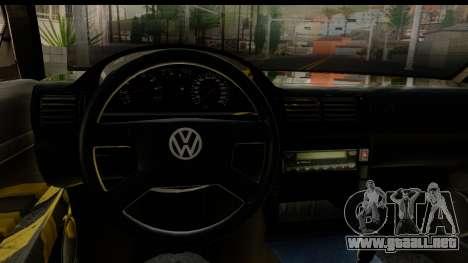 Volkswagen Passat B5 para visión interna GTA San Andreas