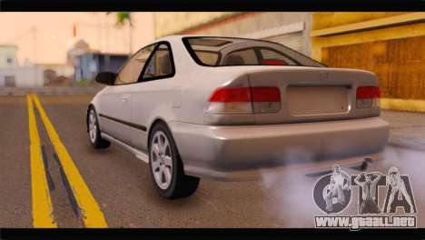 Honda Civic para GTA San Andreas left