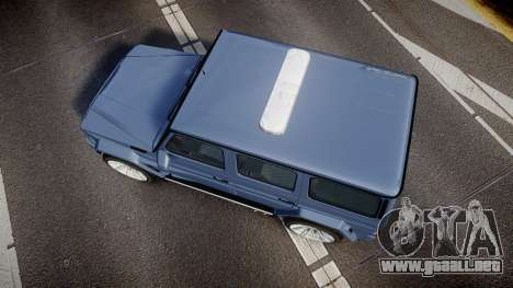 Mercedes-Benz B65 Brabus [ELS] para GTA 4 visión correcta