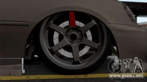 Toyota Crown para GTA San Andreas vista posterior izquierda