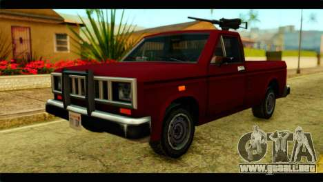 Bobcat Technical Pickup para GTA San Andreas