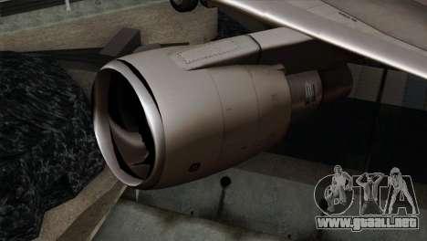 Boeing KC-767 Japan Air Self-Defense Force para la visión correcta GTA San Andreas