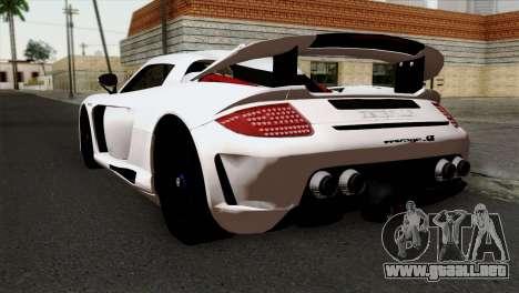 Gemballa Mirage GT v2 Windows Up para GTA San Andreas left
