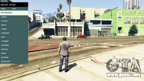 GTA 5 Native Trainer cuarto captura de pantalla