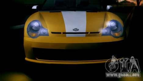 GTA 5 Weeny Issi IVF para GTA San Andreas vista posterior izquierda