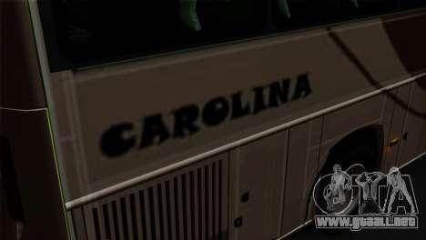 Comil Campione Carolina para GTA San Andreas vista hacia atrás