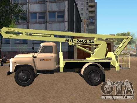 GAS 52 Skylift para GTA San Andreas left