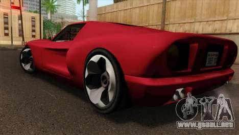 Bullet PFR v1.0 para GTA San Andreas left
