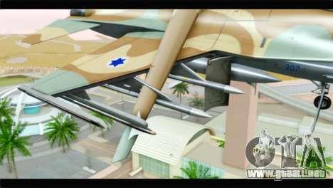 F-16A Netz para la visión correcta GTA San Andreas