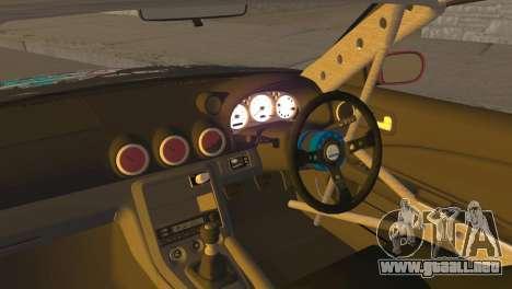 Nissan Silvia S15 Itasha para la visión correcta GTA San Andreas