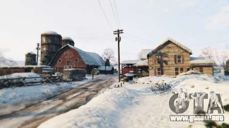 GTA 5 Native Trainer v1.1 North Yankton loader quinta captura de pantalla