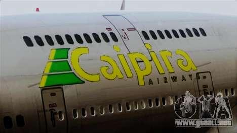 GTA 5 Caipira Airways para GTA San Andreas vista hacia atrás