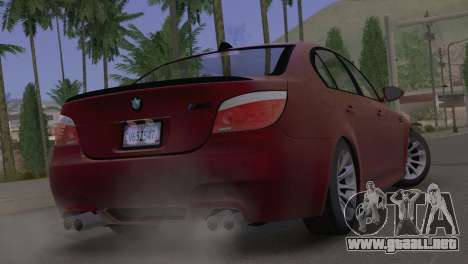 BMW M5 E60 2009 Stock para GTA San Andreas left