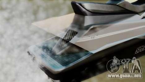 Seashark from GTA 5 para GTA San Andreas vista hacia atrás