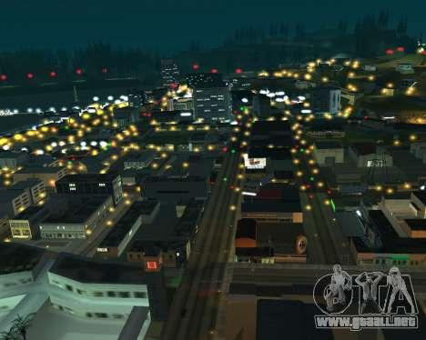 Project 2dfx 2.5 para GTA San Andreas tercera pantalla