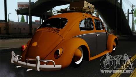 Volkswagen Beetle 1969 para GTA San Andreas left