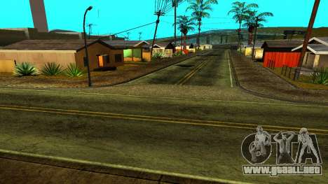 HQ Roads 2015 para GTA San Andreas