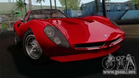 GTA 5 Grotti Stinger GT v2 IVF para GTA San Andreas