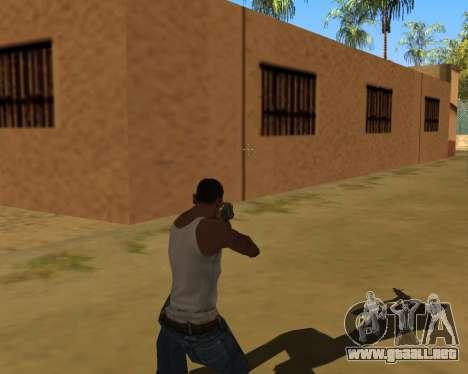 La sombra de la gente y los coches para GTA San Andreas sucesivamente de pantalla