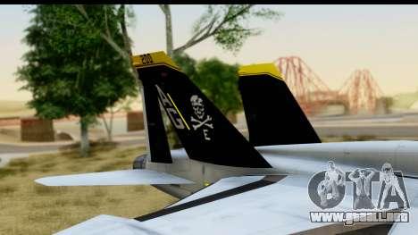 FA-18D VFA-103 Jolly Rogers para la visión correcta GTA San Andreas