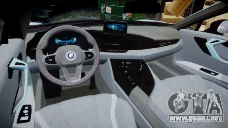 BMW i8 2013 para GTA 4 vista interior